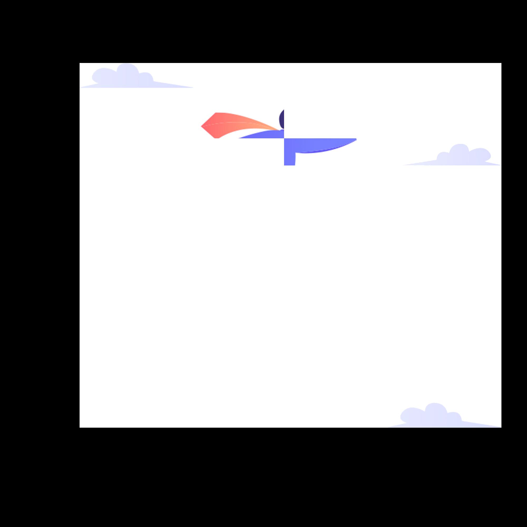nuvole omino razzo